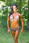 Girl with muscle - Tonya Blevins Shull