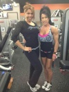 Girl with muscle - Heather Grace (L) - Tracy Bodner (R)