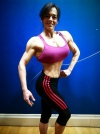 Girl with muscle - Veronica Gallego