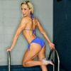 Girl with muscle - Victoria Adelus
