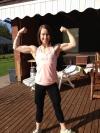 Girl with muscle - MariLiisa Heininen
