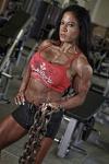 Girl with muscle - hazel carrico