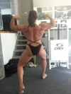 Girl with muscle - Crystal Anthony