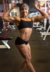 Girl with muscle - Erykah Blockman