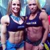 Girl with muscle - Juliana Malacarne / Noemia Roldan