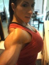 Girl with muscle - Angela Salvagno