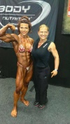 Girl with muscle - Oana Hreapca (L) - Carole Vincent (R)