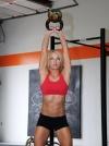 Girl with muscle - nicole zapoli