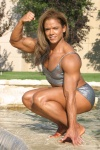 Girl with muscle - Michelle Baker