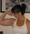 Girl with muscle - Vicki O'Brien