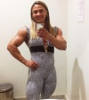 Girl with muscle - Jamila Boaventura