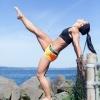 Girl with muscle - Kelcie Gahley