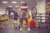 Girl with muscle - lenochka