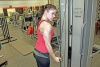 Girl with muscle - outi nenonen