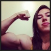 Girl with muscle - Geisi Silva