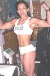 Girl with muscle - Edith Espinoza Martinez