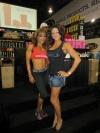 Girl with muscle - Adela Garcia (L) - Chelcea Gonzales (R)