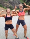 Girl with muscle - Roberta Nechtavel  / Shayla Turcotte