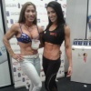 Girl with muscle - Dinah Salazar (L) - Bella Falconi (R)