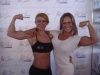 Girl with muscle - Desiree Gazmira (L) - Nora Girones (R)