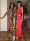 Girl with muscle - Edita Jovaisiene (L)