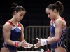 Girl with muscle - Alexandra Raisman / Jordyn Wieber
