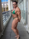 Girl with muscle - Dawn Allison