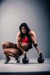 Girl with muscle - Nicole Warburg Seymour
