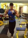 Girl with muscle - Maria Kuzmina Bulatova