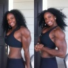 Girl with muscle - Margie V. Martin