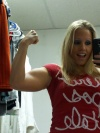 Girl with muscle - trainergirl24