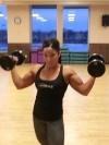 Girl with muscle - Linda Crossley