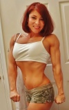 Girl with muscle - Christina Adler