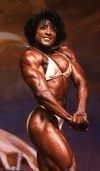 Girl with muscle - Audrey Harris