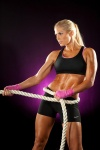 Girl with muscle - Torrie Wilson