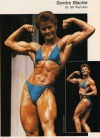 Girl with muscle - Sandra Blackie
