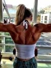 Girl with muscle - rafaela