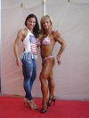 Girl with muscle - Paola Speciales (L) - Elena Bertsch (R)