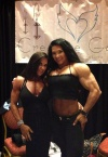 Girl with muscle - Rose / alina popa (r)