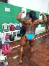 Girl with muscle - Yaquelin Rikesez