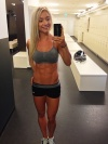 Girl with muscle - Mette Lyngholm