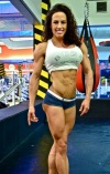 Girl with muscle - Valerie Garcia