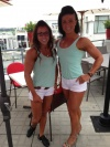 Girl with muscle - Marie-Elaine Brodeur (L) - Christina Richard (R)