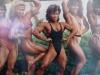 Girl with muscle - Leny Tops / Hannie Van Aken / Ina Lopulissa / Joyc