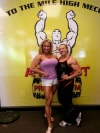Girl with muscle - Heather Armbrust (L) - Rene Marven (R)