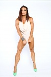 Girl with muscle - Lisa Marino Sanders