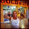 Girl with muscle - denise faith