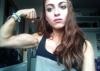Girl with muscle - Angela Radu