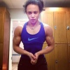 Girl with muscle - Fay Simone
