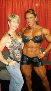 Girl with muscle - Donna Jones, Yaxeni Oriquen